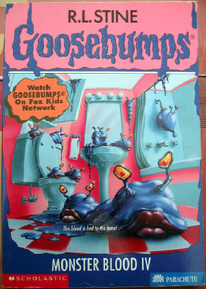 Goosebumps Monster Blood 4 Monster blood iv  62    seriesGoosebumps Monster Blood